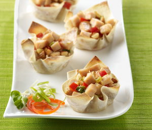 Almond Turkey Cups