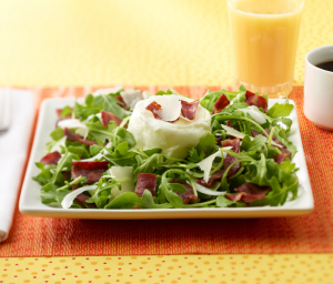 Turkey Bacon & Arugula Salad