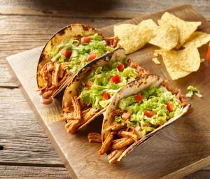 Turkey & Napa Cabbage Street Tacos