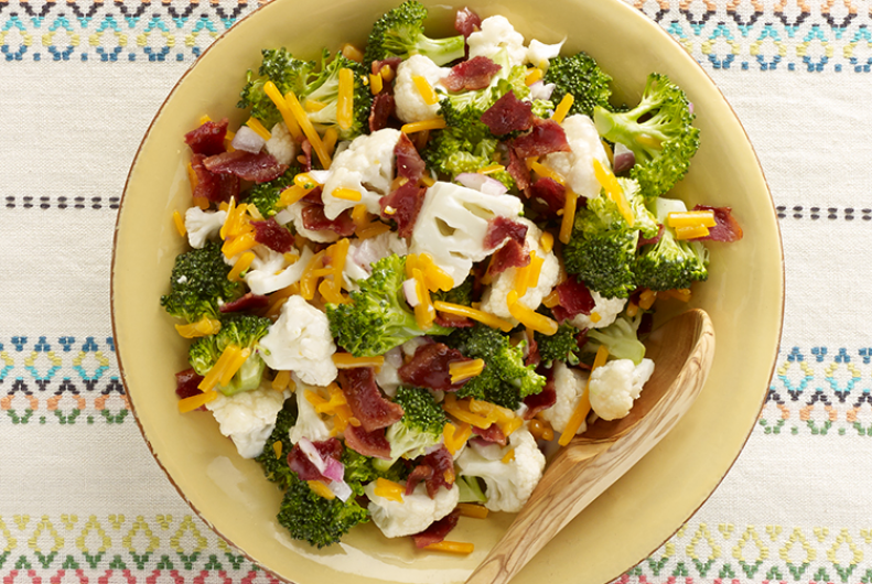 Turkey Bacon Summer Salad