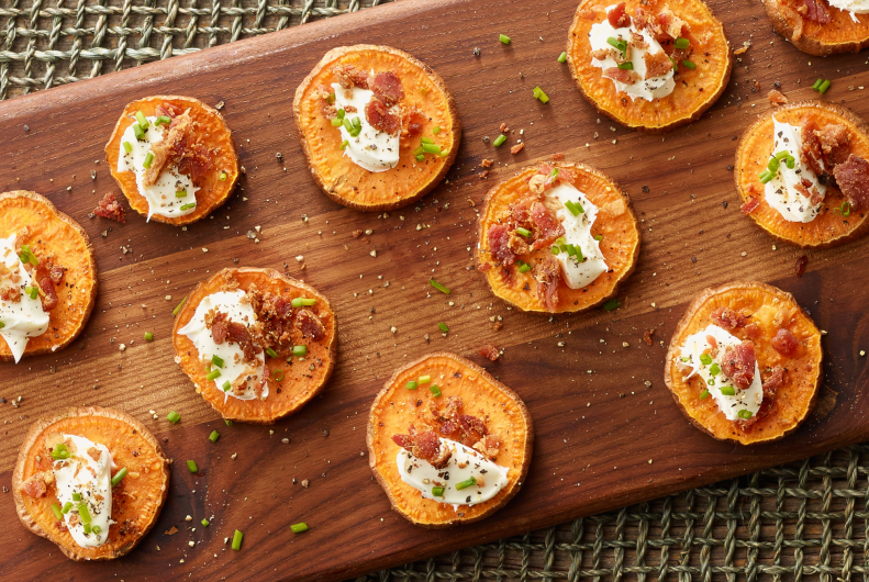 Sweet Potato & Bacon Bites