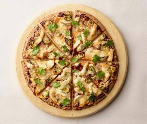 Sweet Potato Turkey Pizza