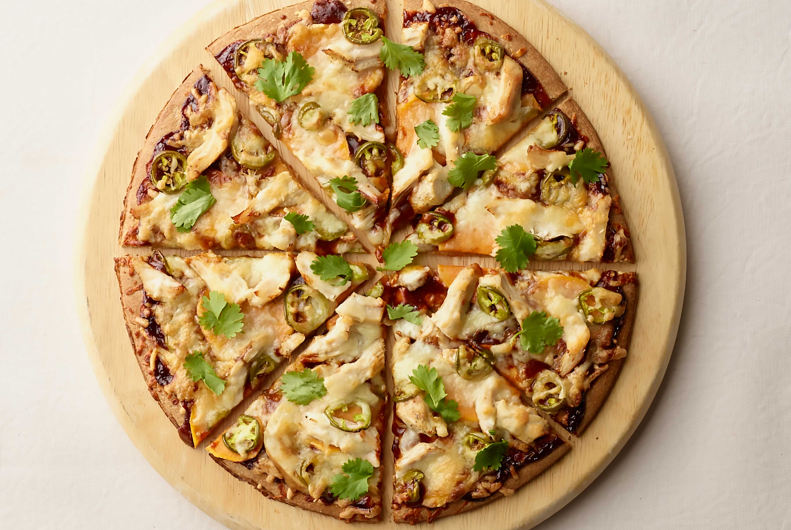 Sweet Potato Turkey Pizza