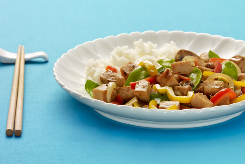 Turkey Teriyaki Stir-Fry