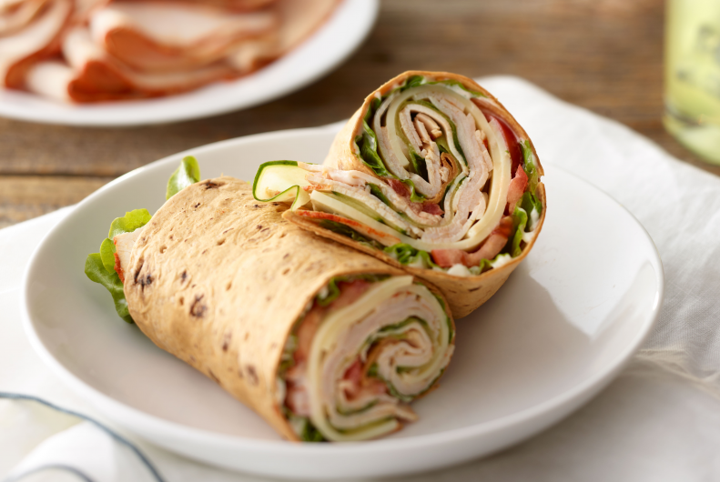 Sun Dried Tomato Turkey Breast Wrap