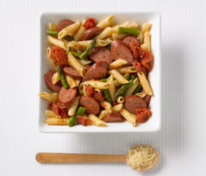 Turkey Sausage & Pasta Toss