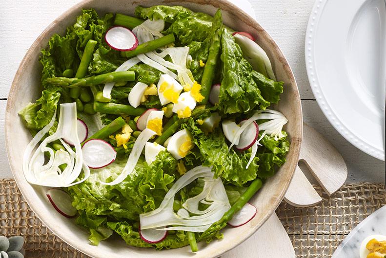 Easy Asparagus & Edamame Salad