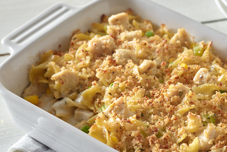 Tasty Turkey Noodle Casserole
