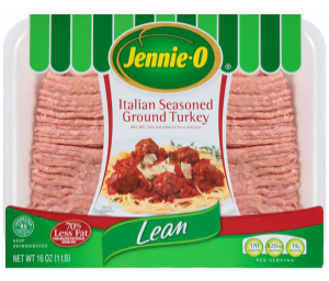Lean Italian Seasoned Ground Turkey
