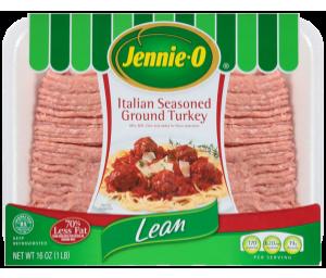 Lean Italian Seasoned Ground Turkey