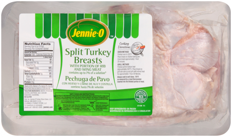 Split Turkey Breasts