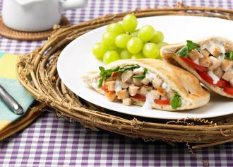 Summer Turkey Pitas