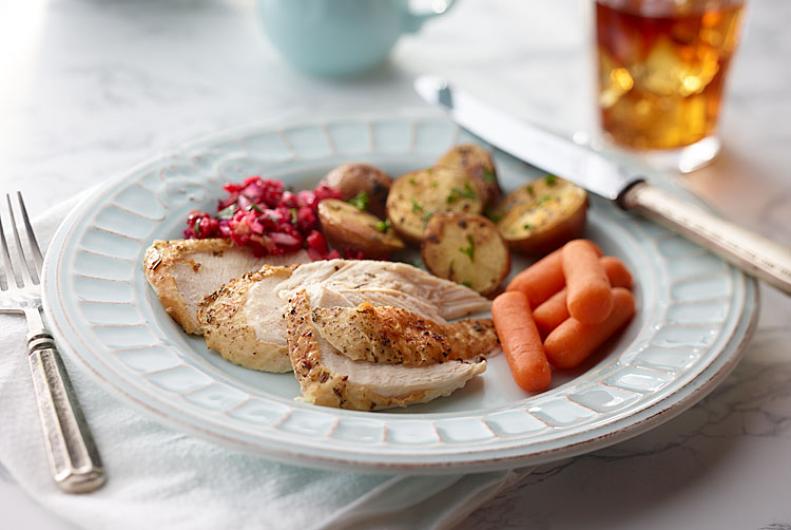Turkey Roast with Carrots & Potatoes