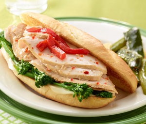 Philly Style Turkey Roll