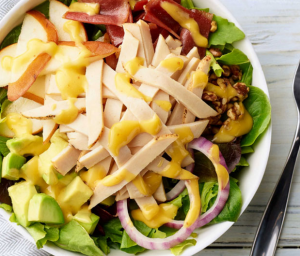 Chicken Pear & Avocado Salad