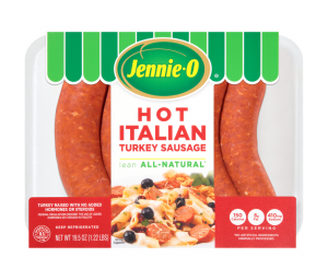 Lean Hot Italian Turkey Sausage