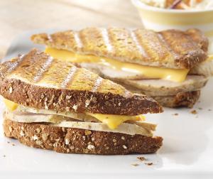 Grilled Turkey Sandwiches