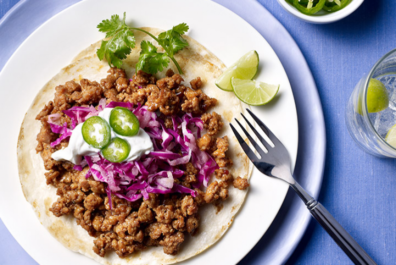 Baja Style Turkey Tacos