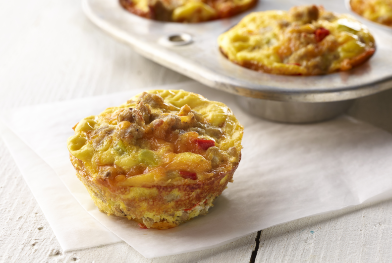 Muffin Tin Turkey Breakfast Cups