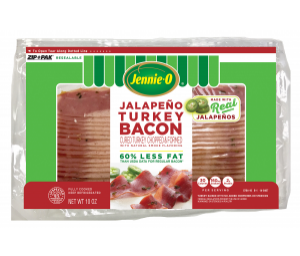 Jalapeño Turkey Bacon