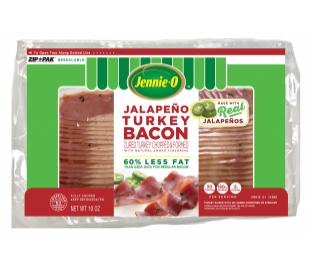 Jalapeño Turkey Bacon