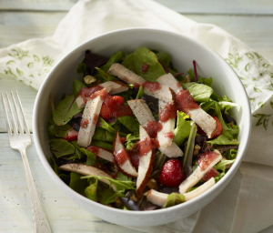 Turkey Strawberry Salad