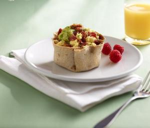 Breakfast Bowls with Turkey Bacon