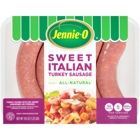 Sweet Italian Turkey Sausage | Jennie-O® Turkey