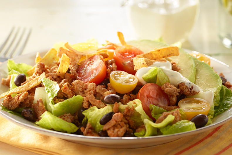 Kid-Friendly Turkey Taco Salad