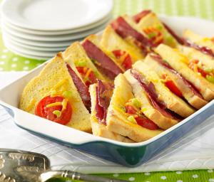 Breakfast Bake with Turkey Bacon