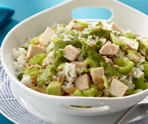Avocado, Turkey & Rice Salad