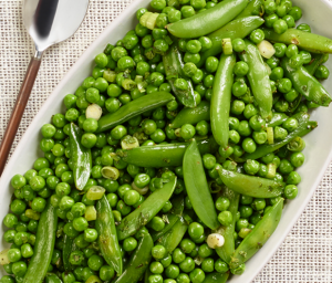 Fresh Peas with Mint