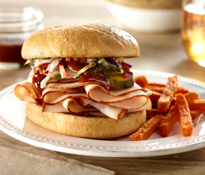 Peri Peri Chicken BBQ Sandwich