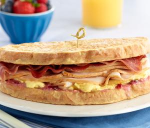 Monte Cristo Turkey Breakfast Sandwich