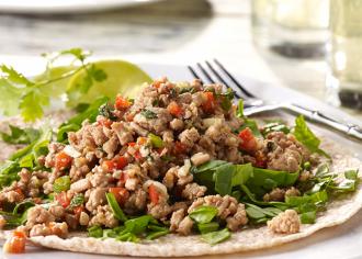 Luau Turkey Tacos Tortilla Style