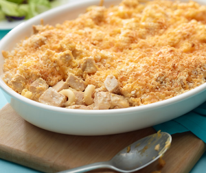 Mac & Cheese Turkey Bake