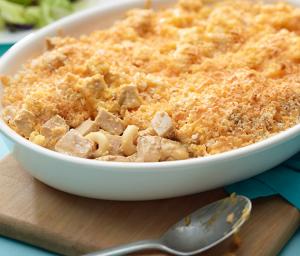 Mac & Cheese Turkey Bake