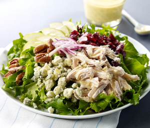 Turkey, Apple & Blue Cheese Salad