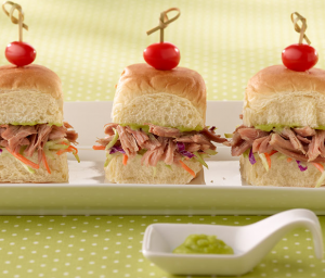 Asian Turkey Slider