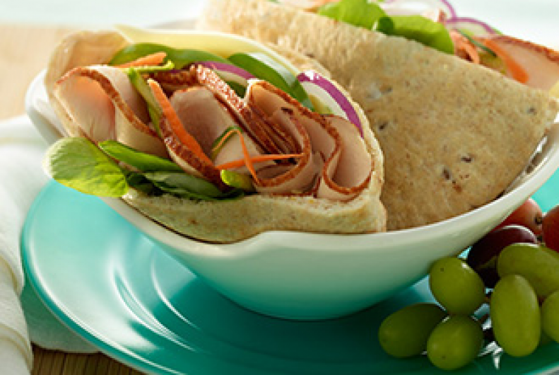 Turkey & Veggie Pita Pocket