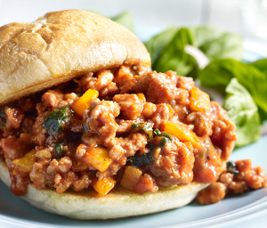 Italian Turkey Sausage Sloppy Joes