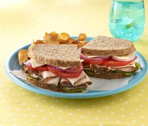 Cracked Pepper Turkey Sandwich