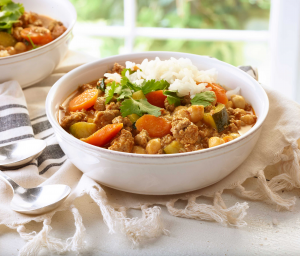Turkey Vegetable Curry