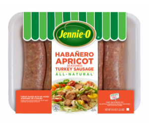 Habañero Apricot Seasoned Turkey Sausage