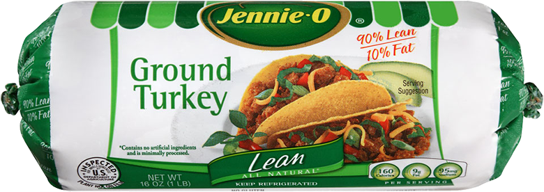 Lean Ground Turkey Roll