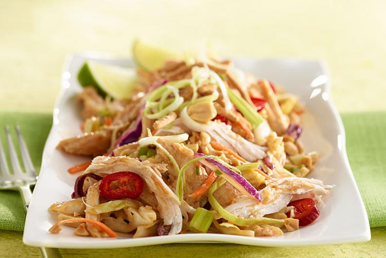 Asian Cabbage Turkey Salad