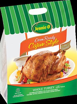 OVEN READY™ Cajun Style Whole Turkey