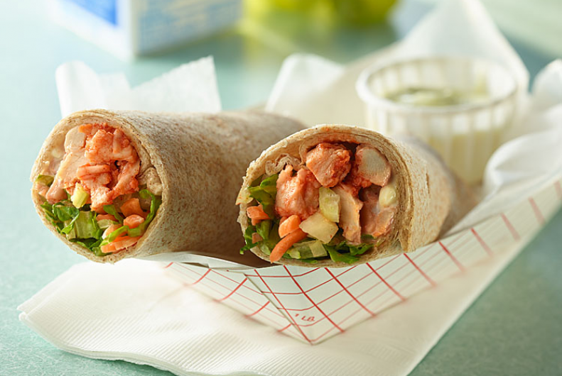 Buffalo Turkey Wrap