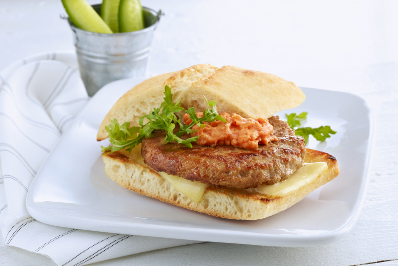 Turkey Burgers & Sundried Tomato Mayo
