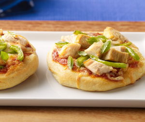 Mini Turkey Pizzas